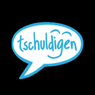 tschuldigen logo header