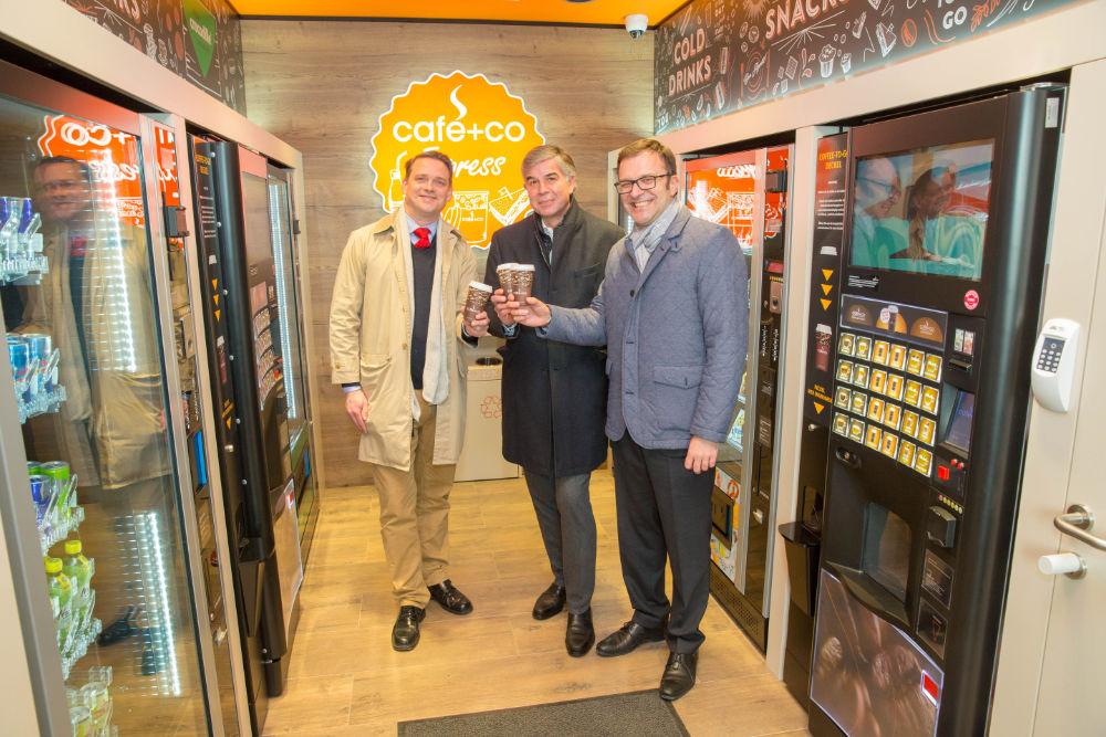 Eröffnung cafe+co Express Standort in Wiener Neustadt